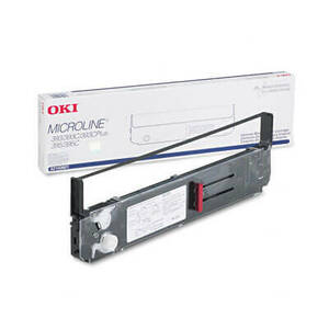 OEM Okidata ML 393/395 Printer Ribbons (1 Ribbon) - Black