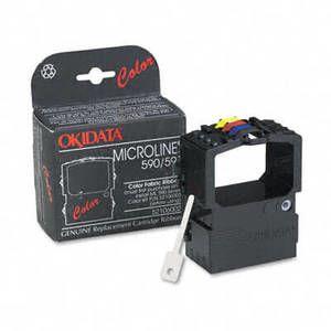 OEM Okidata ML 590/591 Printer Ribbons (1 Ribbon) - 4 Color