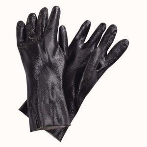 "PVC Pot & Sink Dishwashing Glove - 28 mil - 18"""