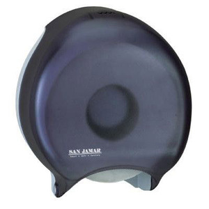 "Single 9"" Toilet Paper Dispenser JBT - Classic - Black Pearl"