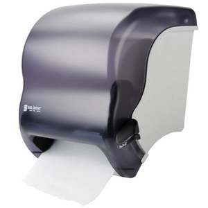 Tear-N-Dry Roll Towel Dispenser, Electronic Touchless, Classic Black Pearl