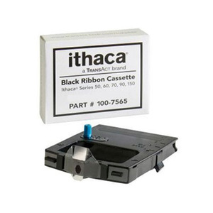Thermamark Black Ribbon for Ithaca 150/90 (1 Ribbon) - OEM# 100-7565