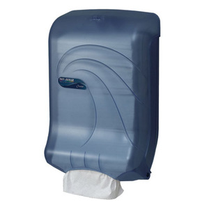 Ultrafold Large Cap Multifold/C-Fold Towel Dispenser - Oceans - Arctic Blue