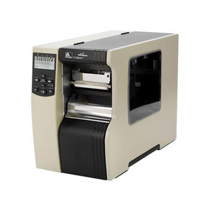 "Zebra 110Xi4 Industrial Label Printer - 4.09"" Print Width, 203 DPI, Rewind with Peel, 802.11 B/G"