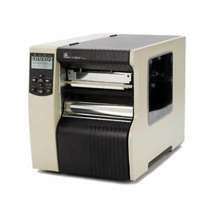 "Zebra 170Xi4 Industrial Label Printer - 6.6"" Print Width, 203 DPI, Rewind with Peel, 802.11 B/G"
