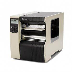 "Zebra 170Xi4 Industrial Label Printer - 6.6"" Print Width, 300 DPI, Rewind with Peel, 802.11 B/G"