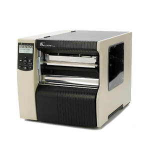 "Zebra 220Xi4 Industrial Label Printer - 8.5"" Print Width, 300 DPI, Rewind with Peel"