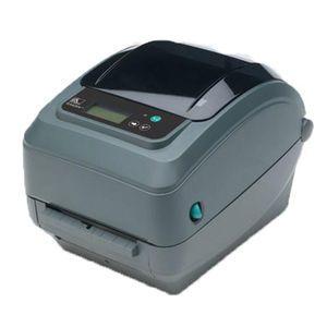 Zebra GX420T Desktop Label Printer with 10/100 Ethernet (Replaces Parallel), Dispenser (Peeler)