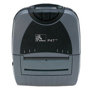 Zebra P4T Portable Label Printer, WiFi 802.11 b/g, Fanfold Slot