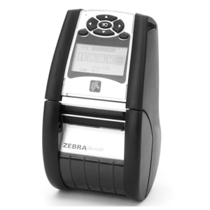 Zebra QLN220 Portable Label Printer, 802.11a/b/g/n dual radio (w/BT3.0+MFi), XBAT, no belt clip, extended battery