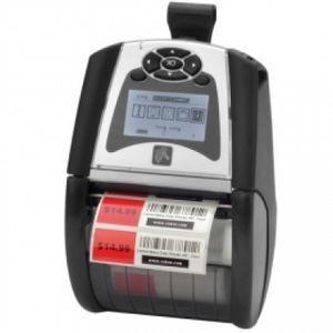 Zebra QLN320 Portable Label Printer, 802.11a/b/g/n dual radio (w/BT3.0+MFi), Linerless Platen, belt clip