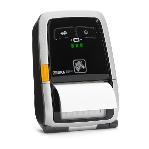Zebra ZQ110 Portable Label Printer, WLAN, US�power plug