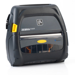 "Zebra ZQ520 Portable Label Printer (4""), BT4.0, No Battery"