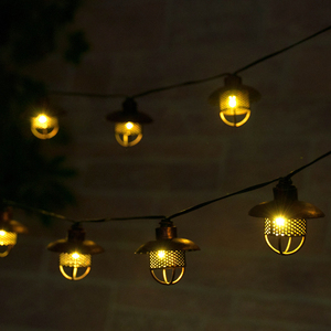 Dante Solar String Lights - Professional Series
