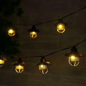 Dante Solar String Lights Professional Series