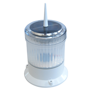 Dock Edge Solar Marine Light for Pilings, Docks, Buoys, and Cranes
