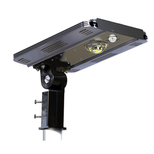 Earthtech Products Smart LED Integrated Lithium Battery Solar Street Light - 10 Watt (1600 Lumen)