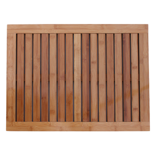 Eco-friendly Bamboo Bathroom Floor Mat