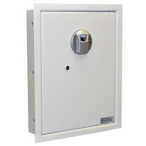 "Fingerprint Operated Wall Safe - Biometric Vault - 14-1/8""(W) x 18-1/4""(H) x 3-7/8""(D)"