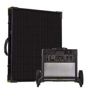 Goal Zero Yeti 3000 Lithium Lightweight Solar Generator Kit - V2 with Wi-fi