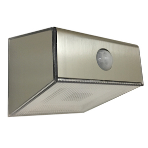 Modern Solar Security Wall Light with Motion Sensor