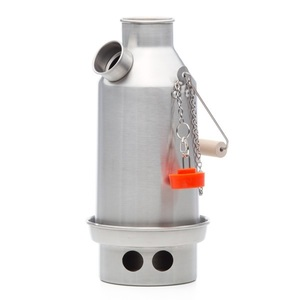 Stainless Steel Trekker Small Kettle By Kelly Kettle Camping And Emergency Preparedness