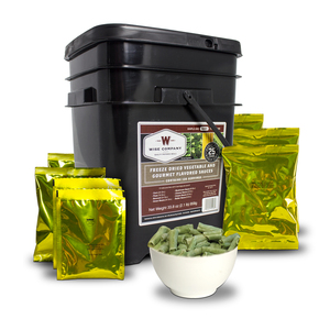 Wise Company 120 Serving Freeze Dried Vegetables & Sauces