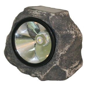 Solar Rock Light A Solar Decor for Driveways, Walkways and Paths