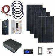 Earthtech Products 2000 Watt (4000W Surge) Solar Kit with 1200 Watts of Solar Power