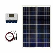 Grape Solar 100-Watt Off-Grid Solar Kit for Homes, Cabins, Sheds, Rvs and Boats