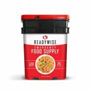 Ready Wise 120 Serving Entree Kit - Long-Term Food Supply for Emergencies