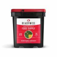 Ready Wise 120 Serving Freeze Dried Vegetable Bucket