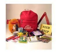 Road Warrior 15 Piece Automobile Emergency Kit