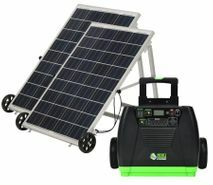 Natures Generator Elite Solar Generator - Gold Kit