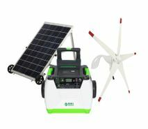 Natures Generator Portable 1800 Watt Solar and Wind Generator Kit