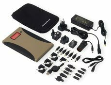 PowerGorilla Tactical Battery Pack Charger for Laptops, Phones and More - 24000 mAh