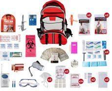Deluxe 2-Person Survival Kit - Survival Bag