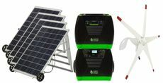 Natures Generator Elite Solar and Wind Generator - Platinum Kit