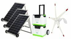 Natures Generator Portable 1800 Watt Solar and Wind Platinum Generator Kit