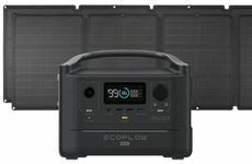 EcoFlow River Max Portable Solar Generator Kit - With (2) 110 Watt Solar Panels