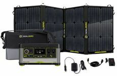Goal Zero Yeti 500X Portable Solar Generator Kit with Nomad 100 Solar Panel