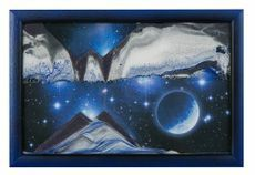 Sand Art Picture - Blue Planet By Klaus Bosch