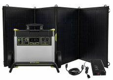 Goal Zero Yeti 3000X Ultimate Solar Generator Kit - Features (3) Nomad 200 Watt Solar Panels