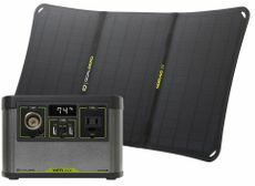 Goal Zero Yeti 200X Portable Power Station and Nomad 20 Solar Kit