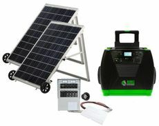 Natures Generator Elite Solar Generator - Power Transfer Gold Kit