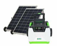Natures Generator Portable 1800 Watt Solar Generator Kit with 200 Watts of Solar