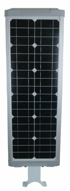 30 Watt Solar LED Street Light for Gardens, Courtyards, Parks and General Area Lighting - Pole Not Included