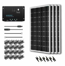 Rigid 12 Volt Solar Panels & Solar Battery Chargers