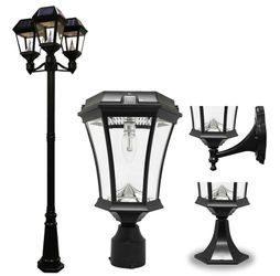 Solar Lamp Post Lights, Deck & Wall Lights