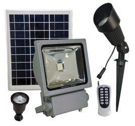 Solar Spot Lights & Solar Flood Lights